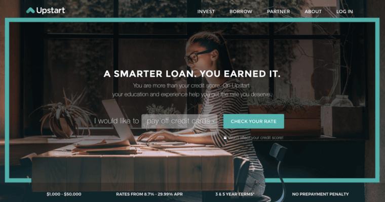 Upstart - Sharper Insight. Smarter Investing.
